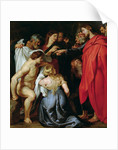 The Resurrection of Lazarus by Peter Paul Rubens