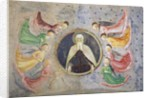 The Eternal Father surrounded by Angels by Tommaso Masolino da Panicale