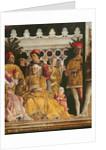 Detail of Barbara of Brandenburg by Andrea Mantegna