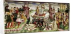 The Triumph of Venus: April from the Room of the Months by Francesco del Cossa