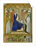 The Carmine Altarpiece by Pietro Lorenzetti