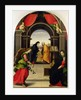 The Annunciation and the Visitation by Girolamo del Pacchia