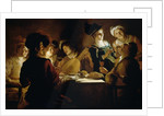 A Feast with a Lute PLayer by Gerrit van Honthorst