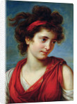 Portrait of Maguerite Porporati by Elisabeth Louise Vigee-Lebrun