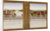 Allegorical triumphs of Federico da Montefeltro, Duke of Urbino and Battista Sforza by Piero della
