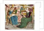 Needleworkers by Francesco del Cossa
