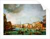 View of the Grand Canal, Venice, looking towards the Rialto by Francesco Guardi