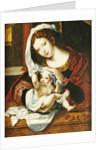 Madonna of the Cherries by Jan Gossaert