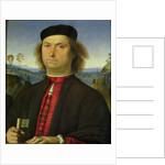 Portrait of Francesco delle Opere by Pietro Perugino
