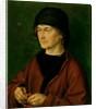 Portrait of the Artist's Father by Albrecht Dürer or Duerer