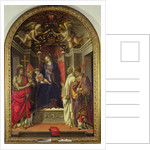 Madonna and Child with Saints by Filippino Lippi