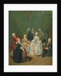 A Patrician Family by Pietro Longhi