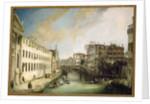 Rio dei Mendicanti by Canaletto