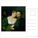 The Venetian Lovers by Paris Bordone