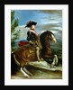 Equestrian Portrait of King Philip IV of Spain by Diego Rodriguez de Silva y Velazquez