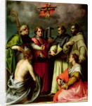 Disputation on the Trinity by Andrea del Sarto