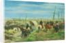 The Italian Camp at the Battle of Magenta by Giovanni Fattori