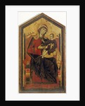 Madonna and Child Enthroned by Guido da Siena
