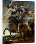 Equestrian portrait of King Philip IV of Spain by Peter Paul Rubens