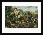 The Fruit Seller by Vincenzo Campi