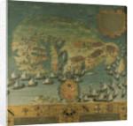 Naval victory of Don Garcia de Toledo in Malta, 1565 by Italian School