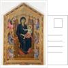 Madonna and Child 1285 by Duccio di Buoninsegna
