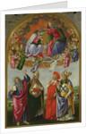 Coronation of the Virgin, 1490-92 by Sandro Botticelli