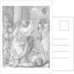 Christ expelling the moneychangers from the temple by Albrecht Dürer or Duerer