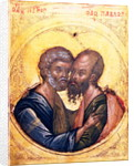 Icon of SS. Peter and Paul by Byzantine