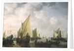 Naval Review by Simon Jacobsz. Vlieger
