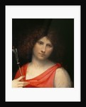 Youth holding an Arrow by Giorgione