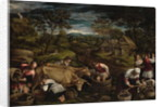 Harvest by Jacopo Bassano