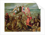 Allegory of the Turkish Wars: The Battle of Kronstadt by Johann or Hans von Aachen