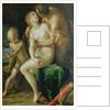 Jupiter, Antiope and Cupid by Johann or Hans von Aachen