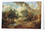 Suffolk Landscape by Thomas Gainsborough