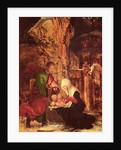 Birth of Christ (Holy Night) by Albrecht Altdorfer