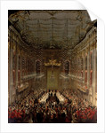 Banquet in the Redoutensaal, Vienna by Martin II Mytens or Meytens