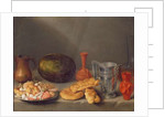 Still life with bread by Francisco Palacios