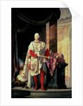 Emperor Francis I of Austria by Johann Baptist Hoechle
