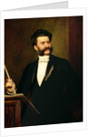 Johann Strauss the Younger by August Eisenmenger