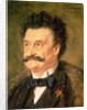 Johann Strauss the Younger by Eduard Grutzner