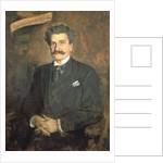 Johann Strauss the Younger by Franz Seraph von Lenbach