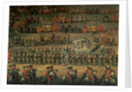 The arrival of Isabella of Parma on the occasion of her wedding to Joseph II by Martin II Mytens or Meytens