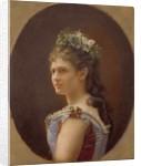 Katharina Schratt, mistress of Emperor Franz Joseph of Austria by Anonymous