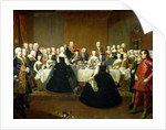 Wedding Breakfast of Empress Maria Theresa of Austria and Francis of Lorraine, later Francis I by Martin II Mytens or Meytens