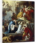 St. Januarius visited in prison by Proculus and Sosius by Francesco Solimena