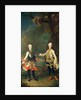 Joseph and Leopold, sons of Francis I and Maria Theresa of Austria, later Joseph II and Leopold II by Martin II Mytens or Meytens