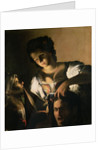 Judith with the head of Holofernes by Carlo Saraceni
