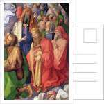 Landauer Altarpiece: King David by Albrecht Dürer or Duerer