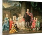 Leopold I, Grand-duke of Tuscany with his wife Maria Ludovica and their children by Johann Zoffany